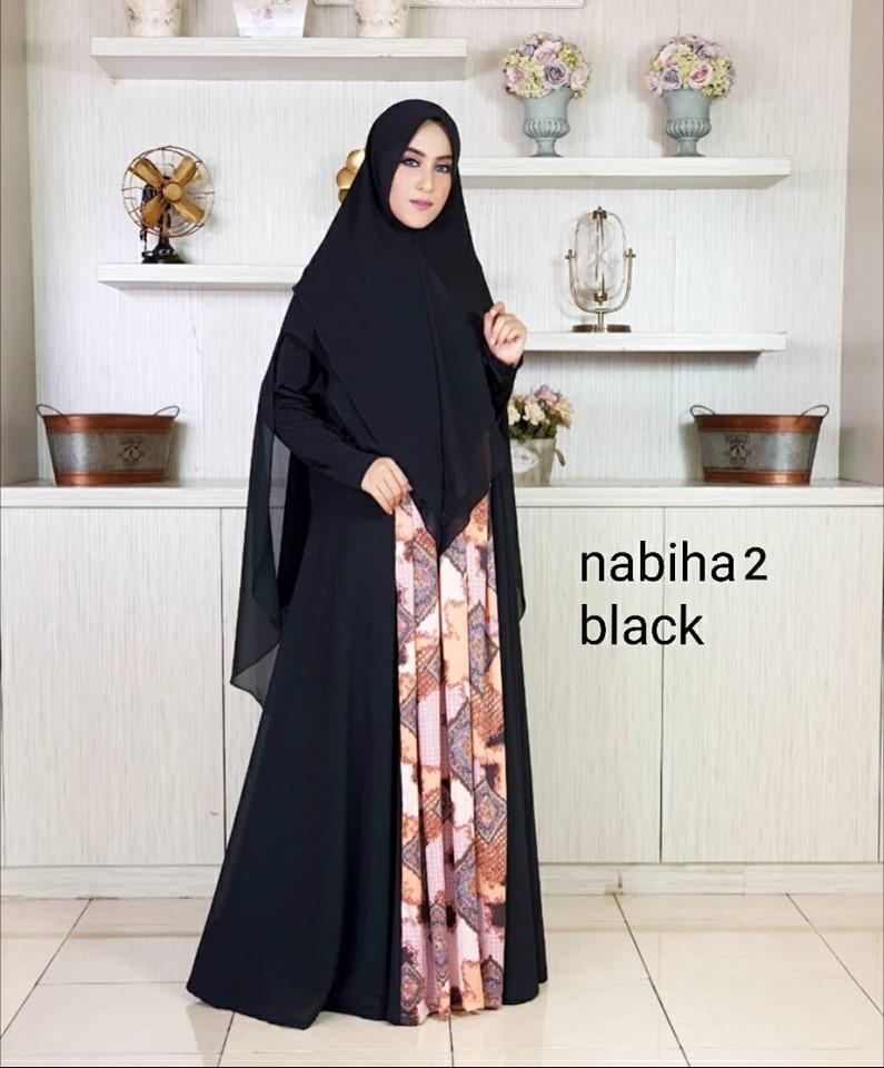 1-2 Tips Memilih Gamis Syari untuk Muslimah