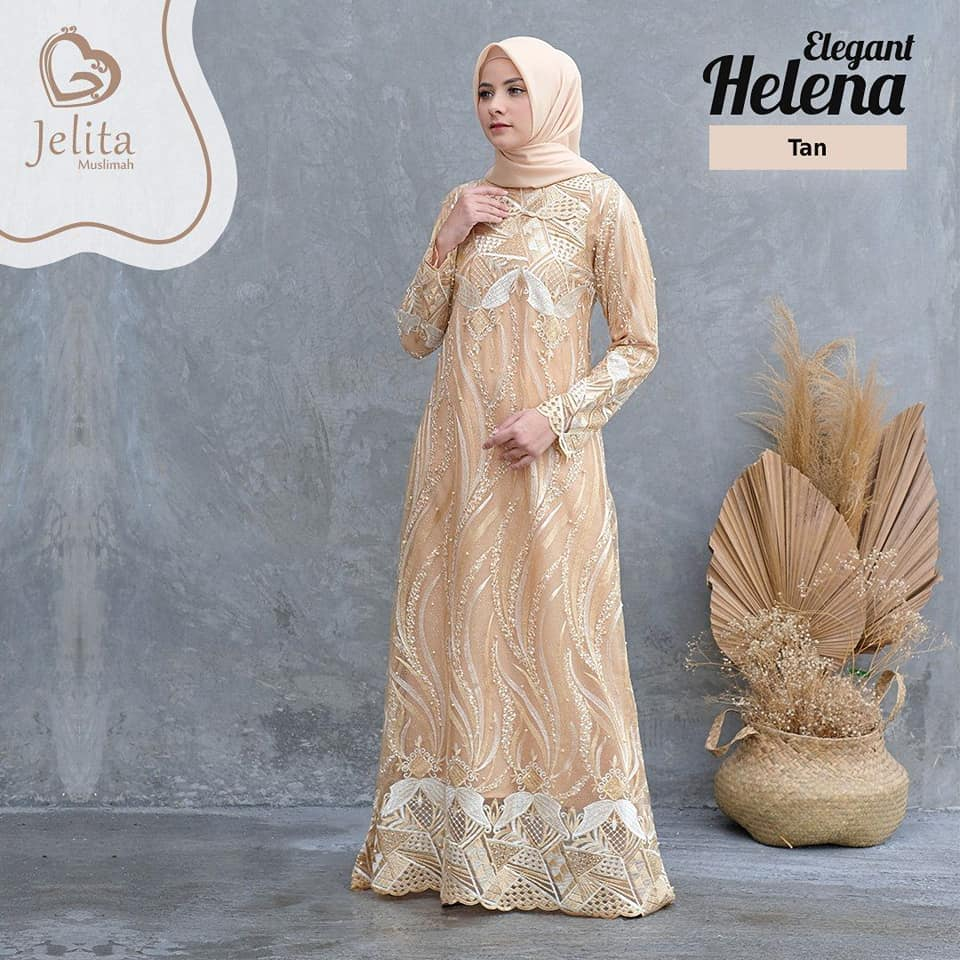 84466067_2917687418282308_1717148102697156608_n HELLENA DRESS TAN BY JELITA