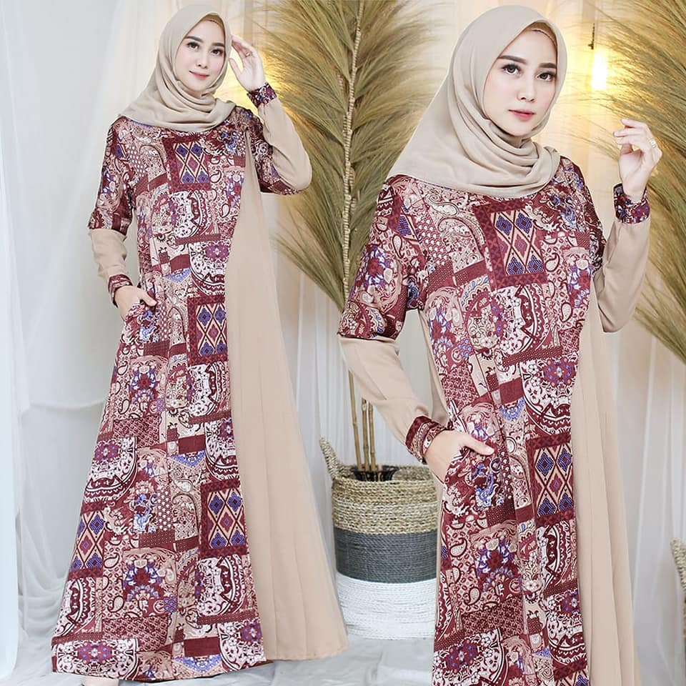 90638523_3006577196059996_6119621170305171456_n GAMIS COMBINASI CREAM BY ABRORR
