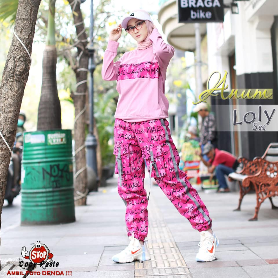 1f60a LOLY SPORTY PINK BY ANUM
