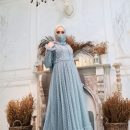 DRESS TILE DUSTY BLUE