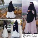 MARYAM DRESS WHITE SERIES IRISH LABEL