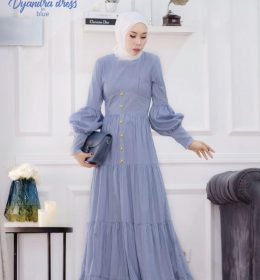 Dyandra Dress In blue BY MY DE LABEL1
