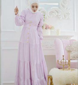 Dyandra dress in misty pink BY MY DE LABEL2