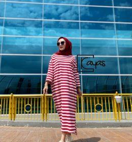 Indie midi dress oversize