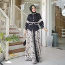 SORAYA DRESS BY GHAZLAN
