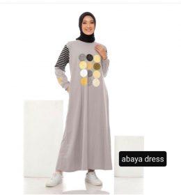 CASUAL DRESS AQILA+SABYAN+ABAYA