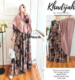 Khadijah set home syari BY ORINAWA